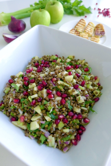 lentils with apple