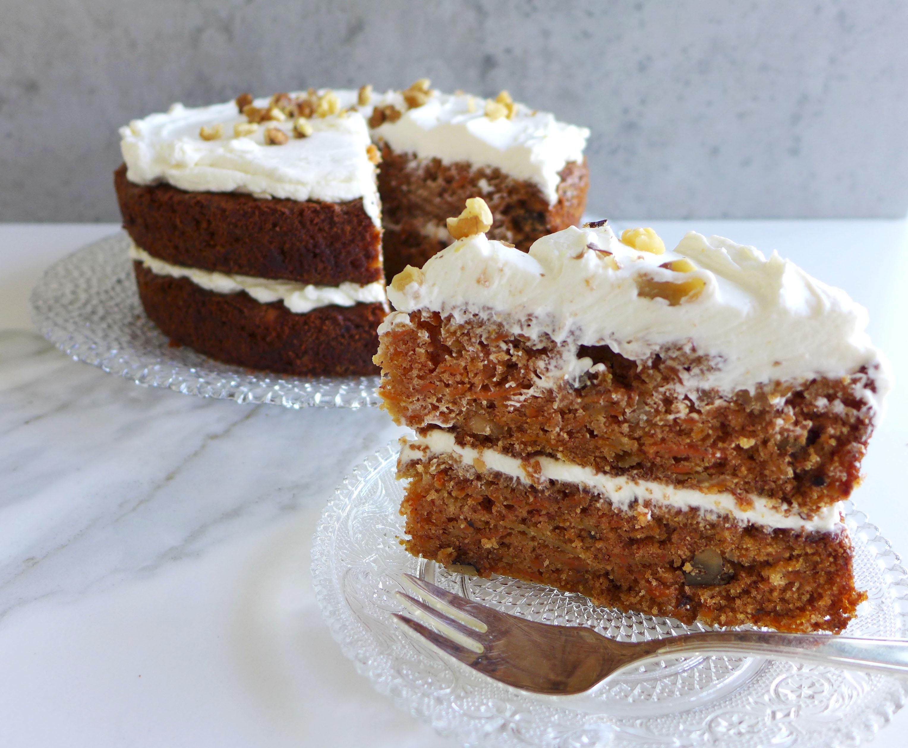 Describing Carrot Cake