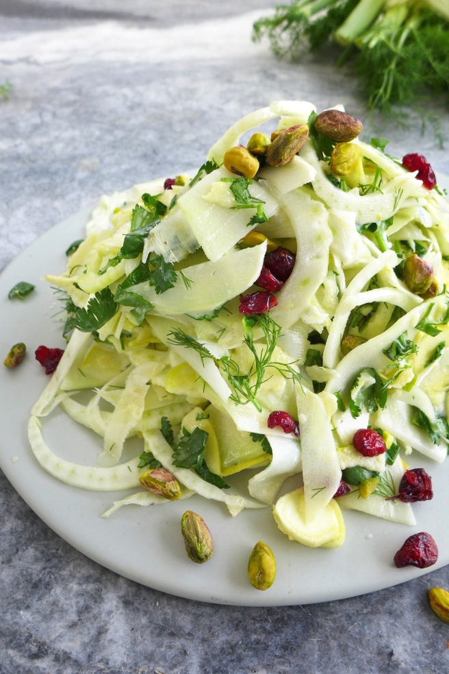 how to use fresh fennel in salad