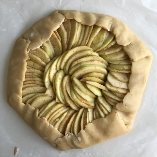 apple galette a2