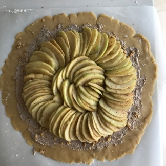apple galette a4