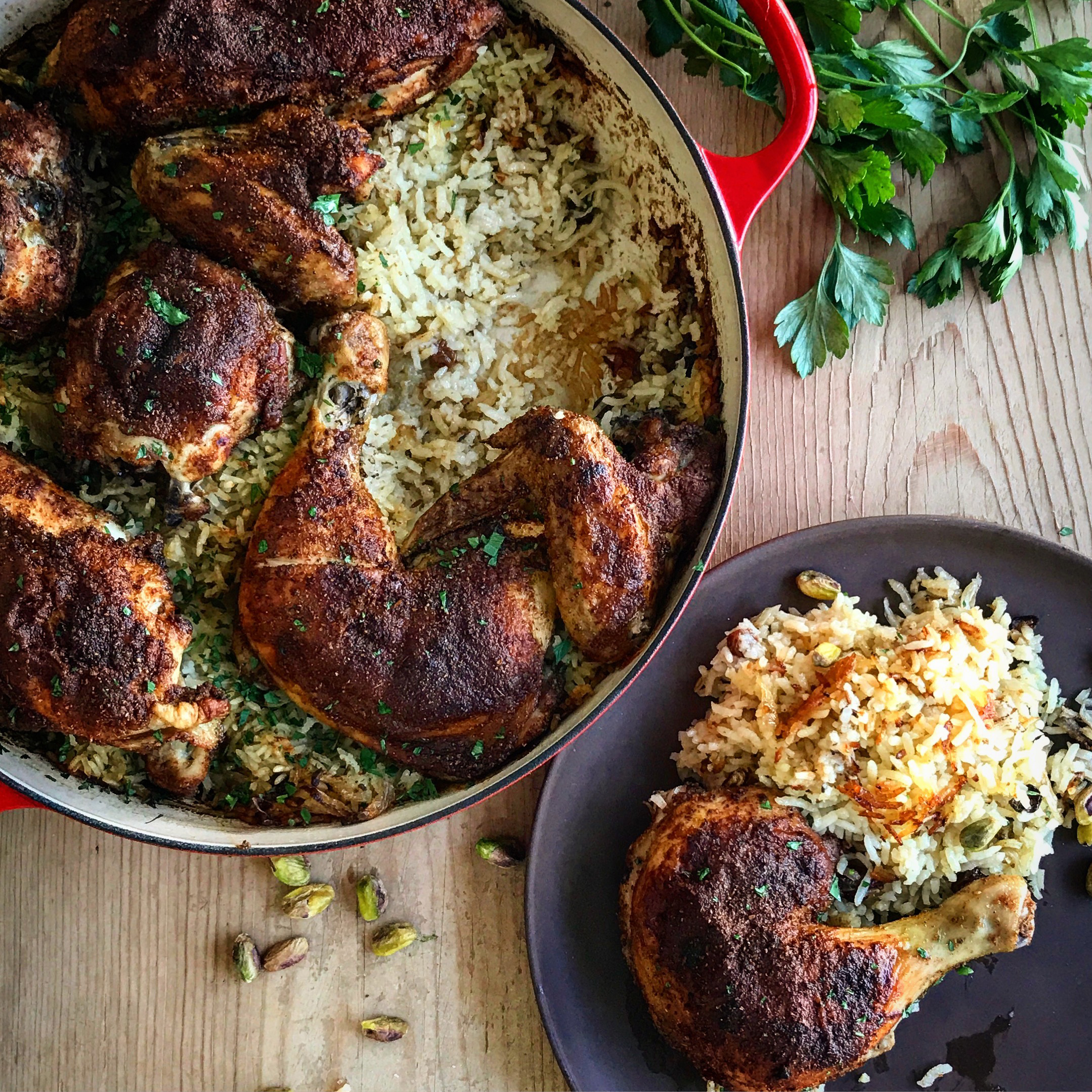 moroccan chicken rice